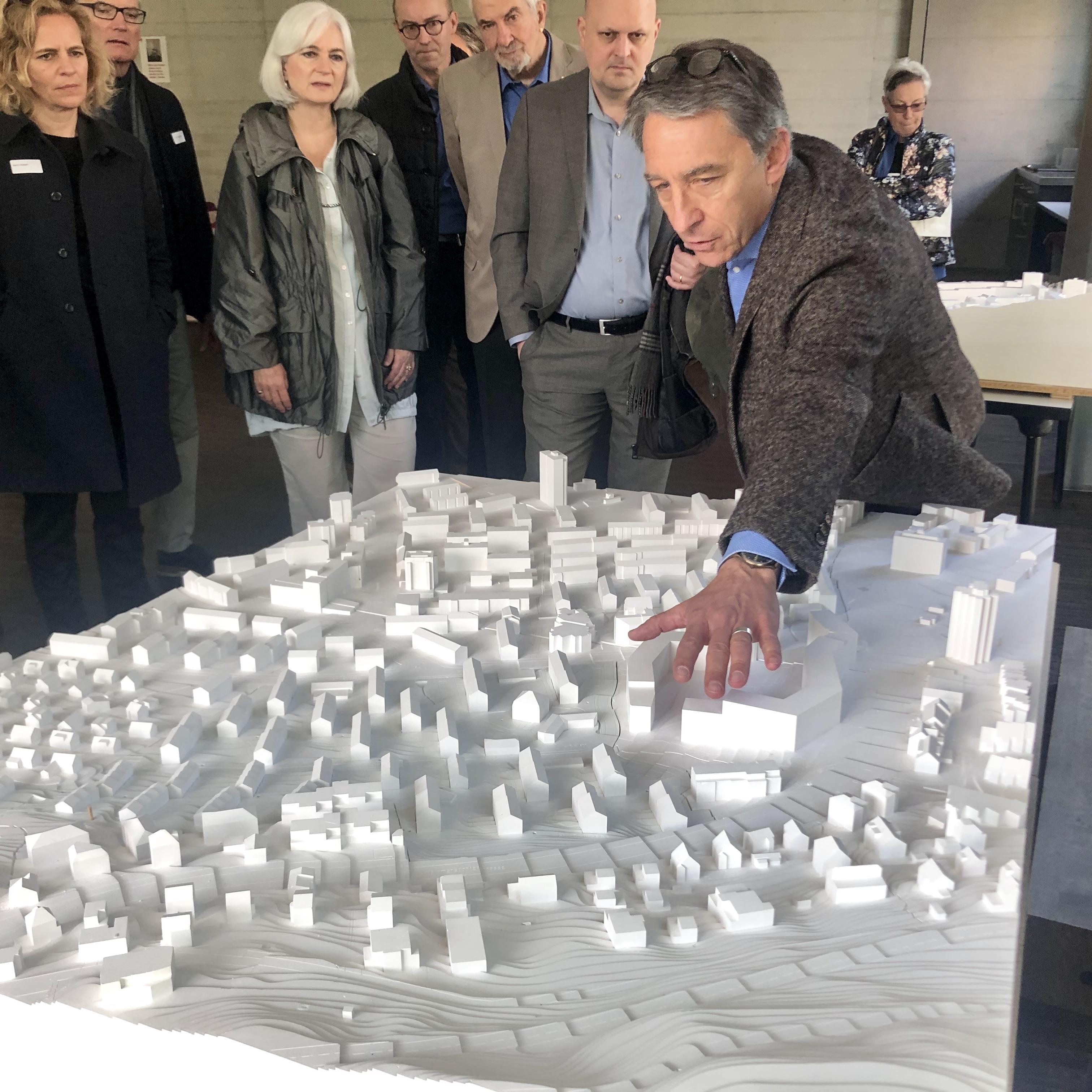 Peter Seidler und Stadtrat
