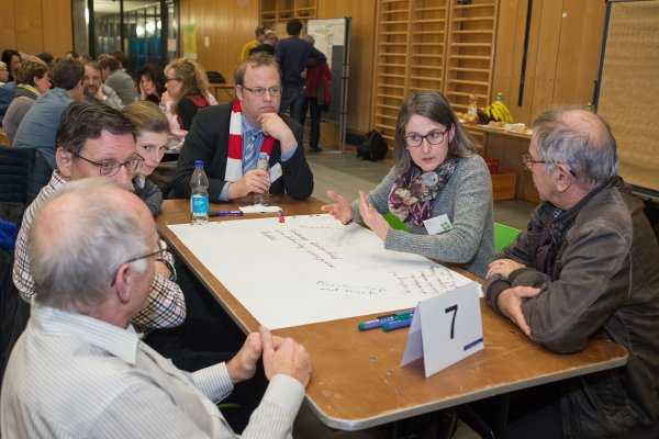 Partizipativer Projektstart im Grünwald